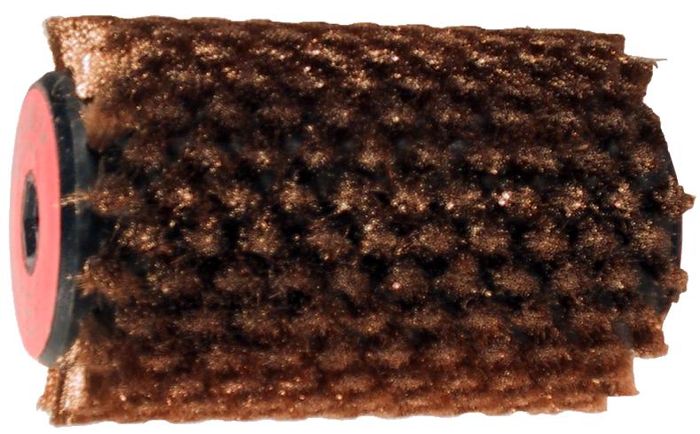 Bronzas rotējošā birste 100mm