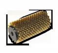 Bronzas rotējošā birste 140mm
